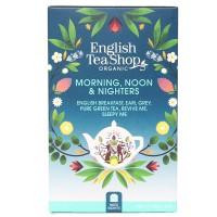 Herbata  Morning, Noon & Nighters 20 saszetek English Tea Shop