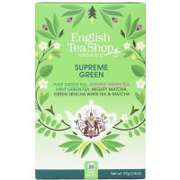 Herbata  Supreme Green 20 saszetek English Tea Shop