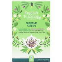 Herbata  Supreme Green 20 saszetek English Tea Shop