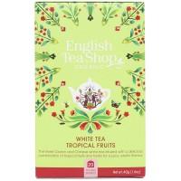Herbata  White Tea Tropical Fruits 20 saszetek English Tea Shop