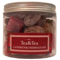 Landrynki herbaciane w słoiczku