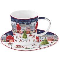 Filiżanka Christmas Village 250 ml Easy Life