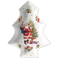 Talerz Christmas Memories 28,5x21,5cm Easy Life