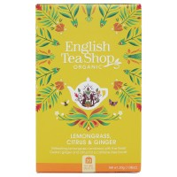 Herbata prezentowa Lemongrass Citrus Ginger 20 saszetek English Tea Shop