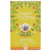 Herbata prezentowa Lemongrass Citrus Ginger 20 saszetek English Tea Shop