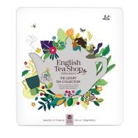 Kolekcja herbat w metalowej puszce The Luxury Tea Collection – 72 saszetki. Opakowanie EKO