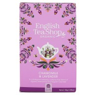 Herbata prezentowa Choamomile Lavender 20 saszetek English Tea Shop