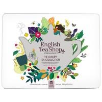 Kolekcja herbat w metalowej puszce The Luxury Tea Collection – 36 saszetek. Opakowanie EKO
