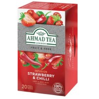 Herbata w saszetkach alu Infusion strawberry& chilli 20szt AhmadTea