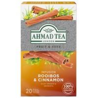 Herbata w saszetkach alu Infusion rooibos &cinnamon20szt AhmadTea