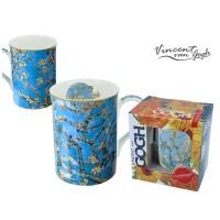 Kubek Kwitnący migdałowiec Van Gogh 400ml Carmani