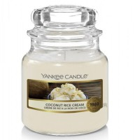 Świeca mała Coconut rice cream Yankee Candle