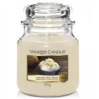 Świeca średnia Coconut rice cream Yankee Candle