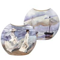 Wazon Boats / Strolling Along 30cm Joaquin Sorolla Goebel