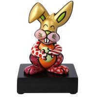 Figurka Orange Rabbit 14 cm Romero Britto  Goebel