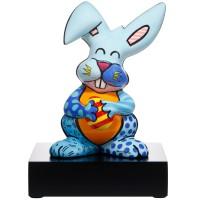 Figurka Blue Rabbit 32 cm Romero Britto  Goebel