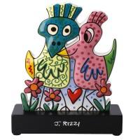 Figurka Love Birds 16,5cm James Rizzi Goebel