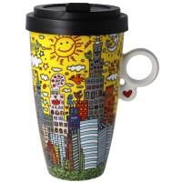 Kubek My New York City Sunset 500ml James Rizzi Goebel
