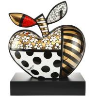Figurka Golden Big Apple 40cm Romero Britto Goebel