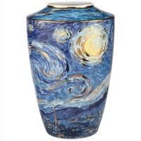 Wazon Starry Night 41 cm Vincent van Gogh Goebel
