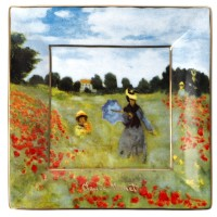 Misa Poppy Field 12x12 cm Claude Monet Goebel