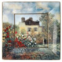 Misa The Artists House 16x16 cm Claude Monet Goebel