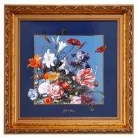 Obraz Letnie kwiaty 31,5x31,5 cm Jan Davidsz de Heem Goebel