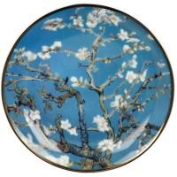 Mini talerz Almond Tree Blue 10cm  Vincent van Gogh Goebel