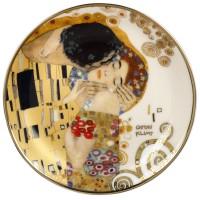 Mini talerz The Kiss 10cm  Gustav Klimt Goebel