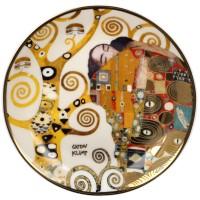 Mini talerz Fulfilment 10cm  Gustav Klimt Goebel