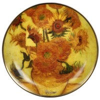 Mini talerz Sunflowers 10cm  Plate Vincent van Gogh Goebel
