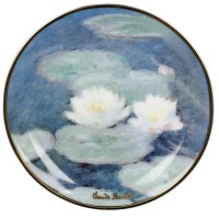 Mini talerz Evening Flowers 10cm Claude Monet Goebel