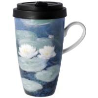 Kubek Evening Flowers 500ml Claude Monet Goebel