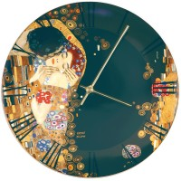 Zegar The Kiss 31cm Gustav Klimt Goebel