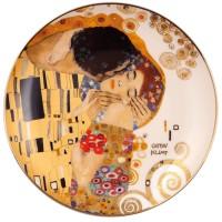 Talerz ścienny The Kiss śr. 21 cm  Gustav Klimt Goebel