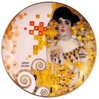Talerz ścienny Portrait of Adele Bloch-Bauer śr. 21 cm  Gustav Klimt Goebel