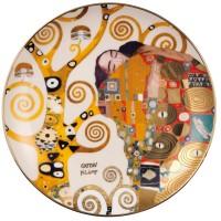 Talerz ścienny Fulfilment śr. 21 cm  Gustav Klimt Goebel