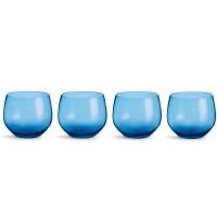 Zestaw 4 szklanek 350ml, niebieskie Sagaform