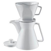 Dzbanek z filtrem do kawy biały 1000 ml Cilio
