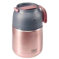 Pojemnik termiczny 0,48l różowy Lurch