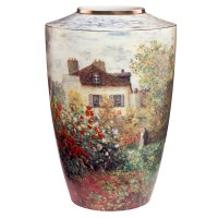 Wazon The Artists House 24cm Claude Monet Goebel