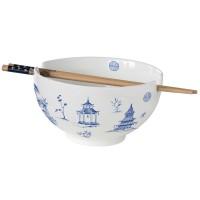 Zestaw Miska +bambusowe pałeczki Asia   650ml Easy Life