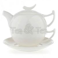 Tea for one Epsilon zestaw filiżanka 250ml z dzbankiem Tea Logic