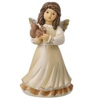 Figurka Anioł Mój leśny przyjaciel 15cm Goebel