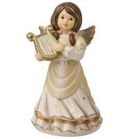 Figurka Anioł Niebiańska Harfa 15,5cm Goebel