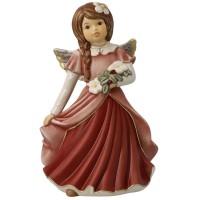 Figurka Anioł Magia Zimowych Kwiatów 15,5cm Goebel