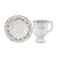 Filiżanka cappucino Kwiatki 400ml English Collection