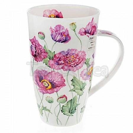 Kubek Henley Poppies Różowe maki 600ml Dunoon