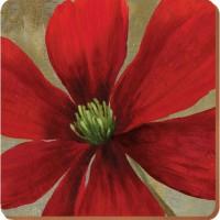 Podkładki Flowers 10,5 x 10,5 cm 6 szt. Creative Tops