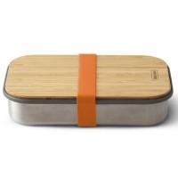 Lunch box na kanapkę pomarańczowy Black + Blum